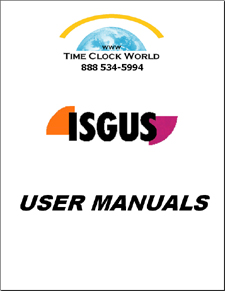 Isgus User Manuals