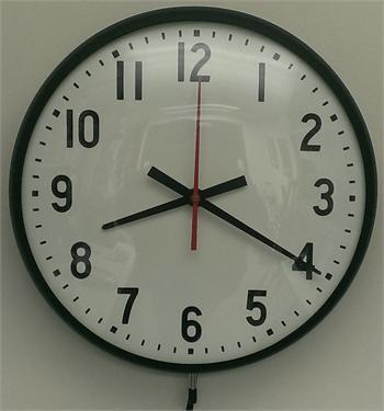 115v Wall Clock 12 Quot Time Clock World 888 534 5994