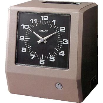 Amano 6300 6400 Series Mechanical Time Clock Time