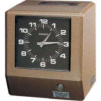 Amano 6800 6900 Series Mechanical Time Clock Time