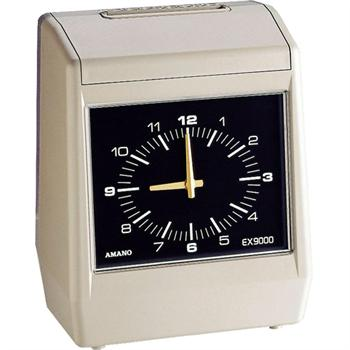 Amano Ex9000 Series Electronic Time Clock Time Clock