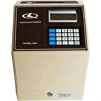 Cincinnati Model 8100 Totalizer Time Clock Time Clock