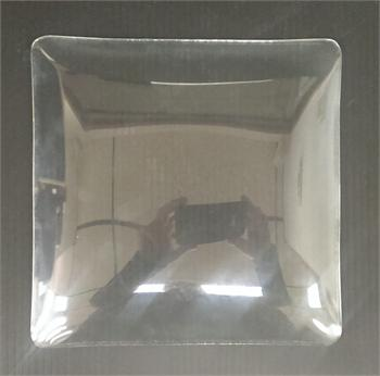 Wall Clock Replacement Square Glass Lens Time Clock World