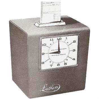 Image Result For Lathem Time Clock Manual