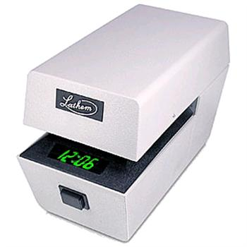 Lathem Lttc Mechanical Date Amp Time Stamp With Led Digital